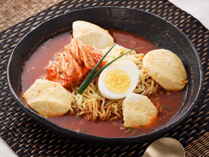 冷やしスンドゥブ麺