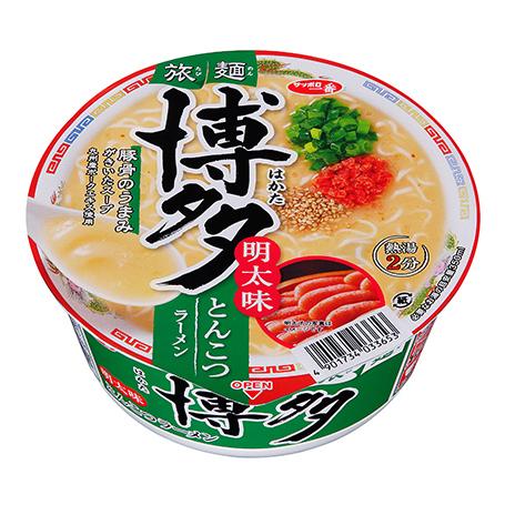 サッポロ一番 旅麺 博多 明太味とんこつラーメン