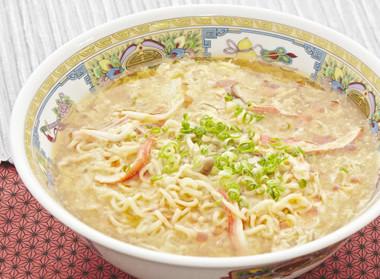 おウチで簡単!カニカマの酸辣湯麺