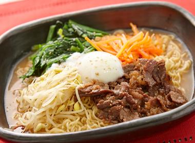 簡単★韓国風ビビンバ麺