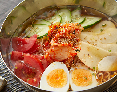 冷やしサッポロ一番☆冷麺風しょうゆ