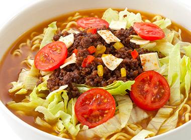 タコス風味カレー麺