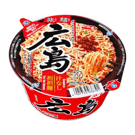 サッポロ一番 旅麺 広島 汁なし担担麺