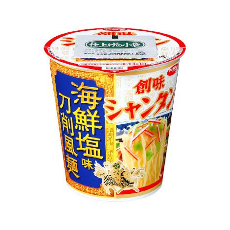 サッポロ一番 創味シャンタン 海鮮塩味 刀削風麺