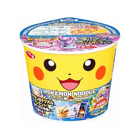サッポロ一番 ポケモンヌードル シーフード味