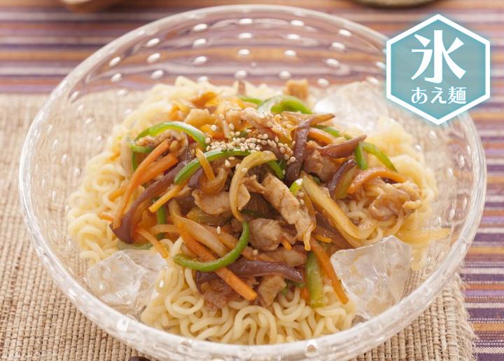 チャプチェ風和え麺