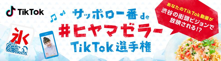 Tiktokキャンペーン 201906
