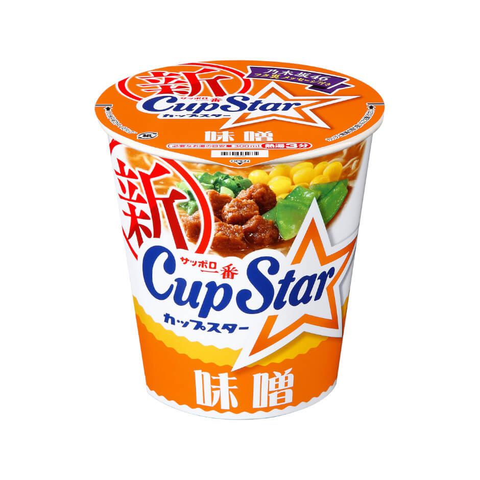 サッポロ一番 カップスター 味噌