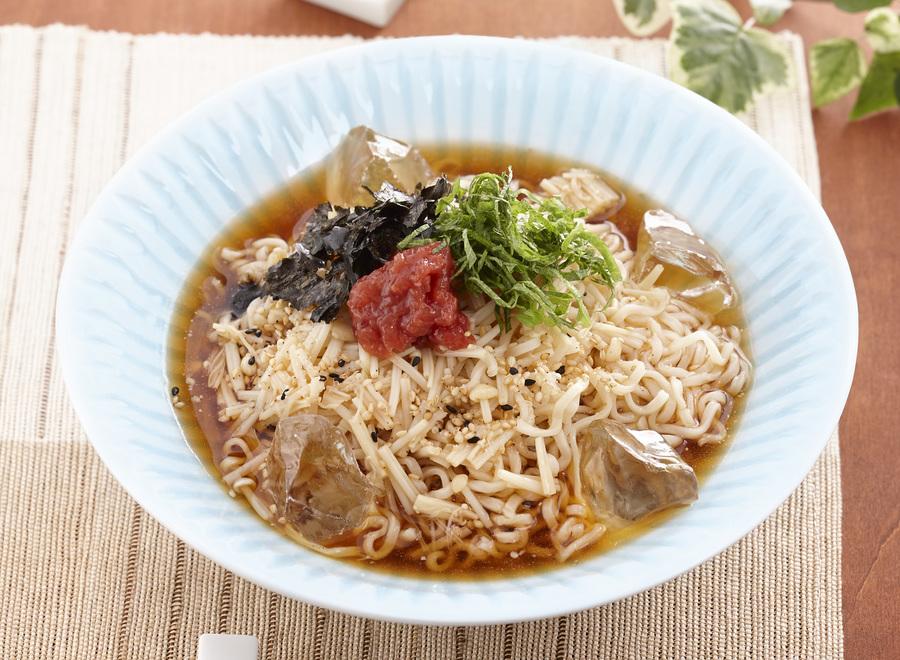 山形のだし風夏野菜ラーメン(しょうゆ)