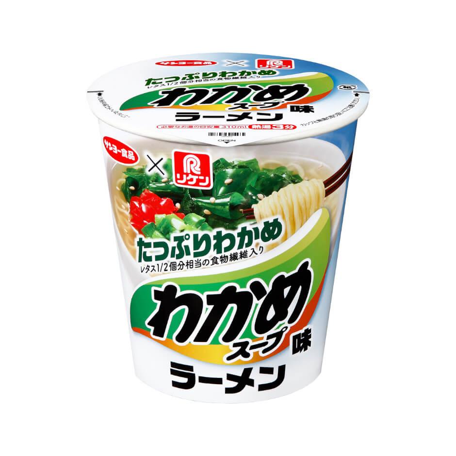 リケンわかめスープ わかめスープ味ラーメン